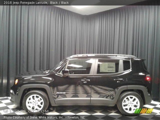 2018 Jeep Renegade Latitude in Black