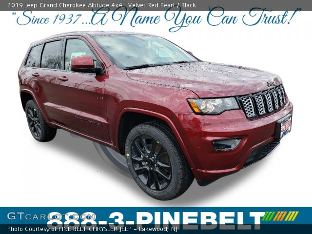 2019 Jeep Grand Cherokee Altitude 4x4 in Velvet Red Pearl