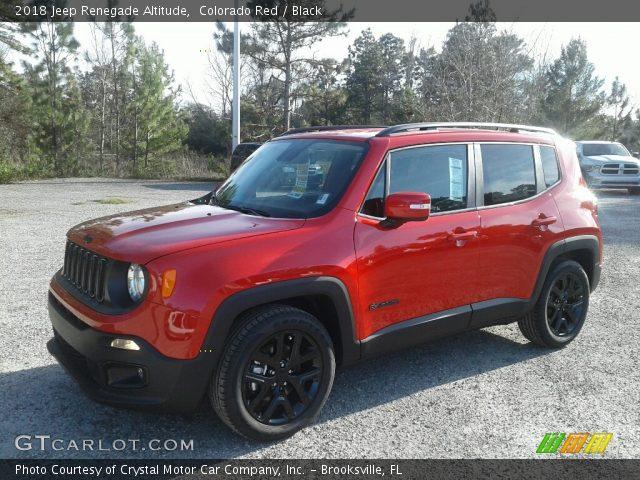 2018 Jeep Renegade Altitude in Colorado Red