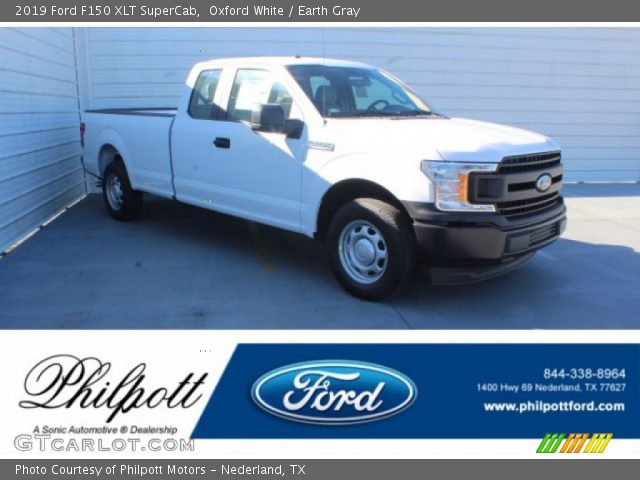 2019 Ford F150 XLT SuperCab in Oxford White