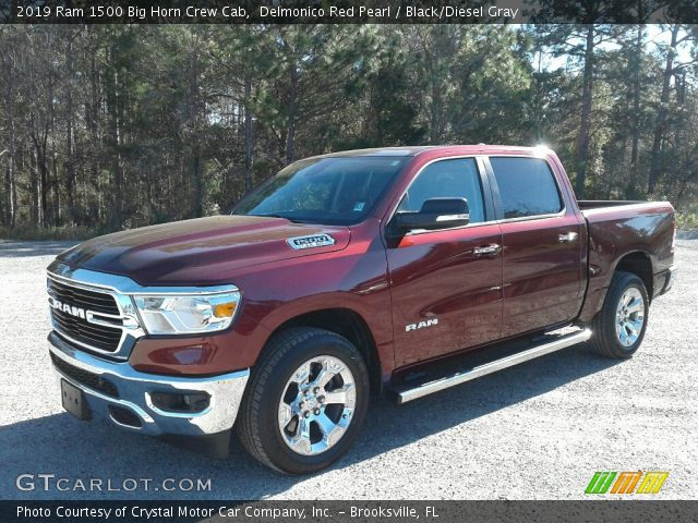 2019 Ram 1500 Big Horn Crew Cab in Delmonico Red Pearl