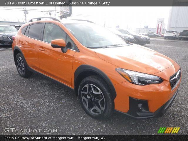2019 Subaru Crosstrek 2.0i Limited in Sunshine Orange
