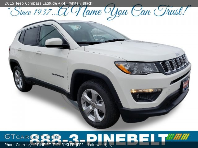 2019 Jeep Compass Latitude 4x4 in White