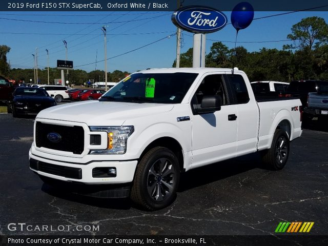 2019 Ford F150 STX SuperCab in Oxford White