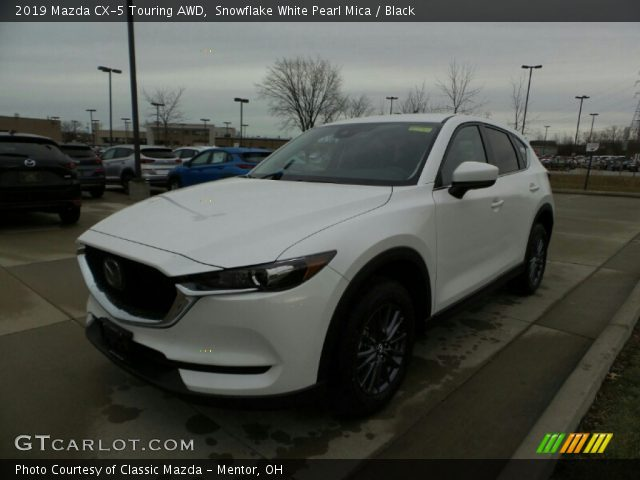 2019 Mazda CX-5 Touring AWD in Snowflake White Pearl Mica