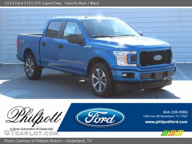 2019 Ford F150 STX SuperCrew in Velocity Blue