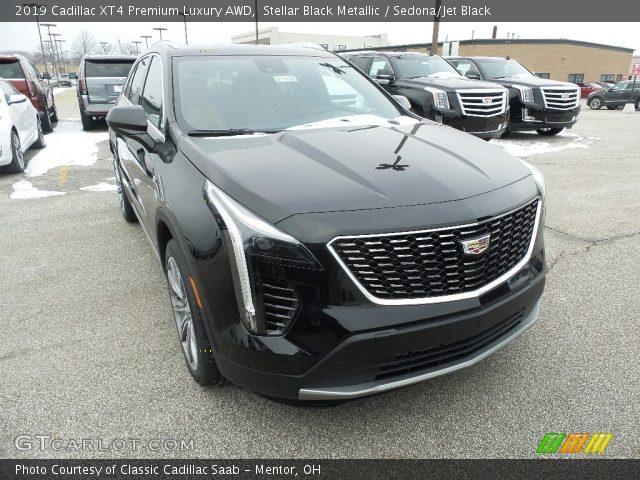 2019 Cadillac XT4 Premium Luxury AWD in Stellar Black Metallic