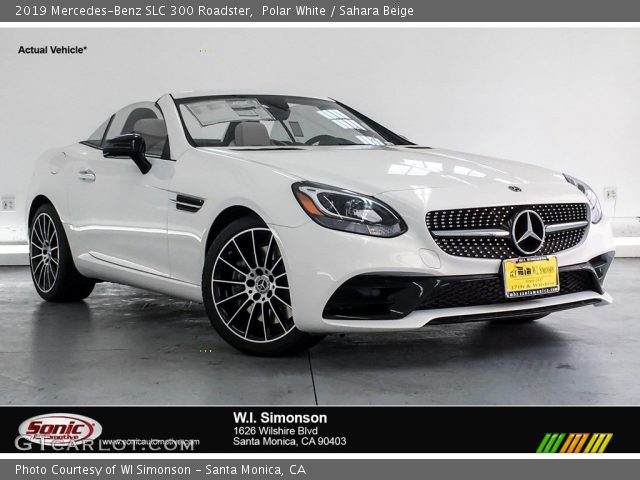 2019 Mercedes-Benz SLC 300 Roadster in Polar White