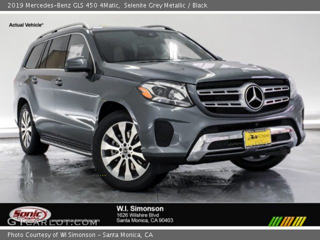 2019 Mercedes-Benz GLS 450 4Matic in Selenite Grey Metallic
