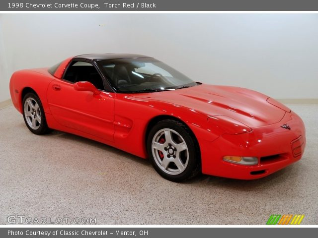 1998 Chevrolet Corvette Coupe in Torch Red