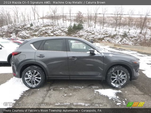 2019 Mazda CX-5 Signature AWD in Machine Gray Metallic