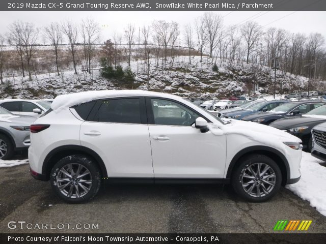 2019 Mazda CX-5 Grand Touring Reserve AWD in Snowflake White Pearl Mica
