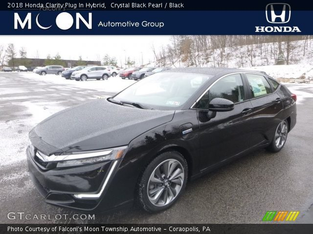 2018 Honda Clarity Plug In Hybrid in Crystal Black Pearl