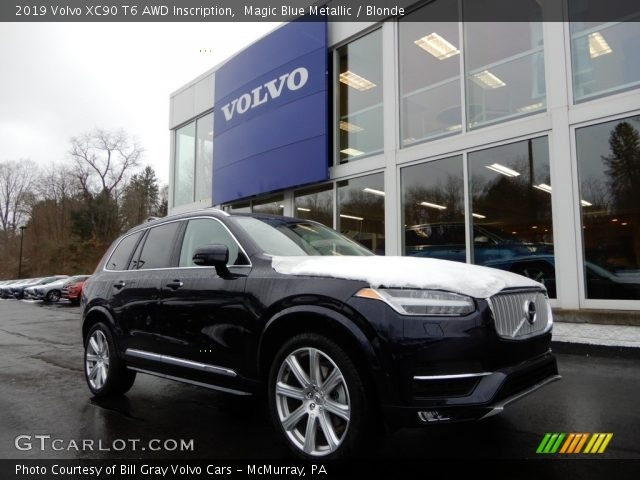 2019 Volvo XC90 T6 AWD Inscription in Magic Blue Metallic