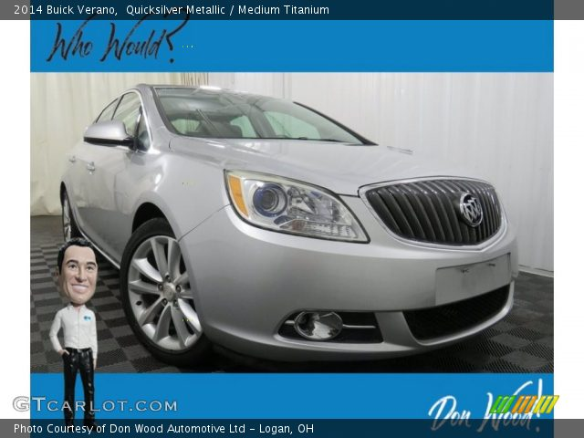 2014 Buick Verano  in Quicksilver Metallic
