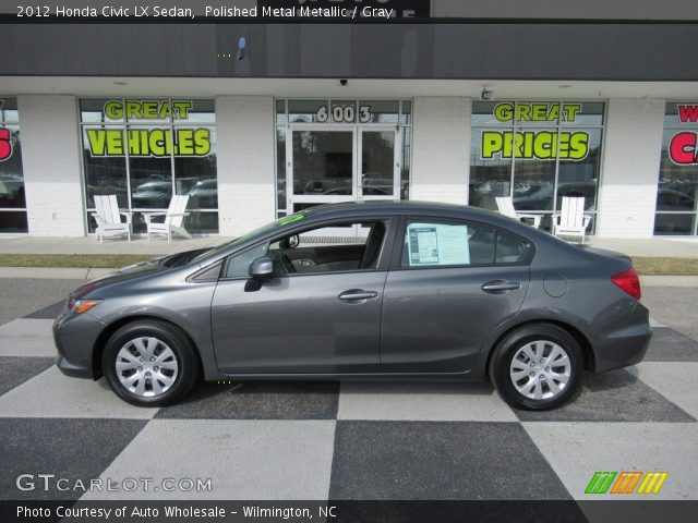 2012 Honda Civic LX Sedan in Polished Metal Metallic