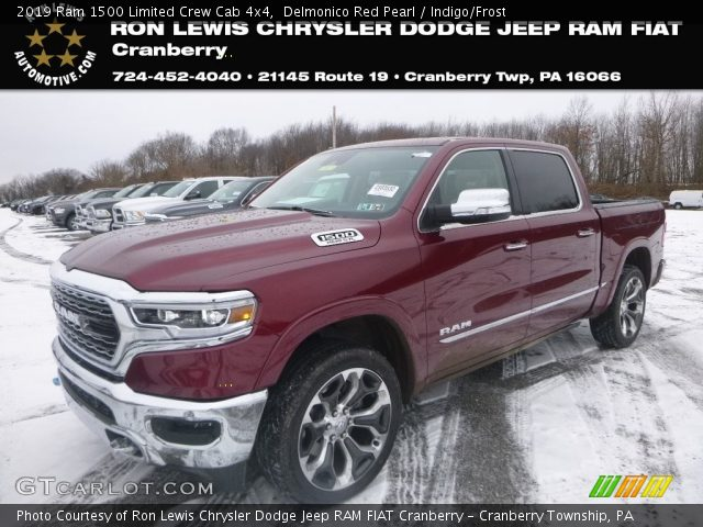 2019 Ram 1500 Limited Crew Cab 4x4 in Delmonico Red Pearl