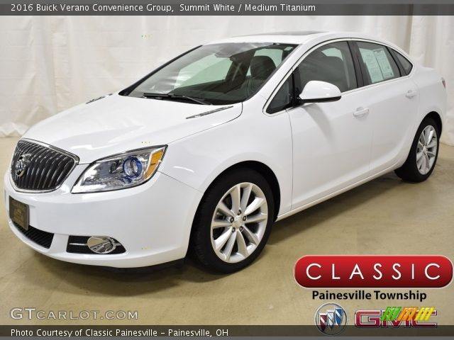 2016 Buick Verano Convenience Group in Summit White