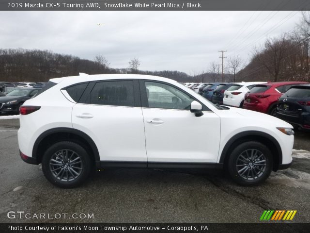 2019 Mazda CX-5 Touring AWD in Snowflake White Pearl Mica