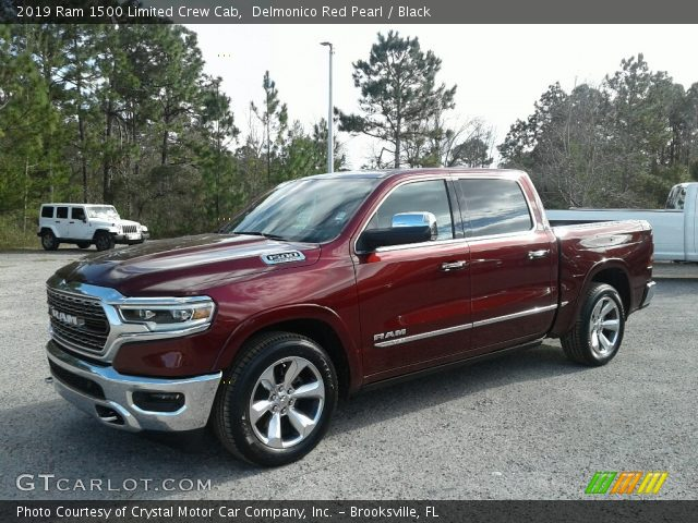 2019 Ram 1500 Limited Crew Cab in Delmonico Red Pearl