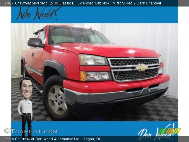 2007 Chevrolet Silverado 1500 Classic LT Extended Cab 4x4 in Victory Red