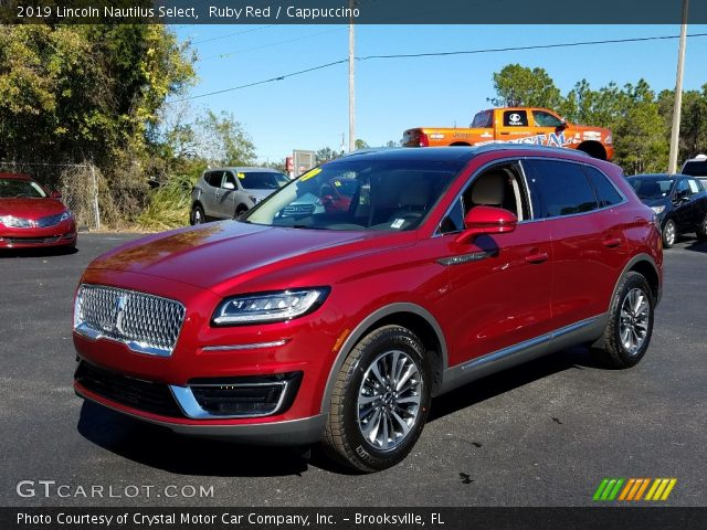 2019 Lincoln Nautilus Select in Ruby Red