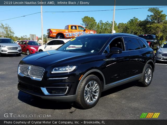 2019 Lincoln Nautilus Select AWD in Infinite Black