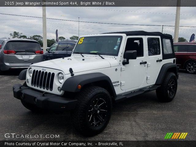 2015 Jeep Wrangler Unlimited Sport 4x4 in Bright White