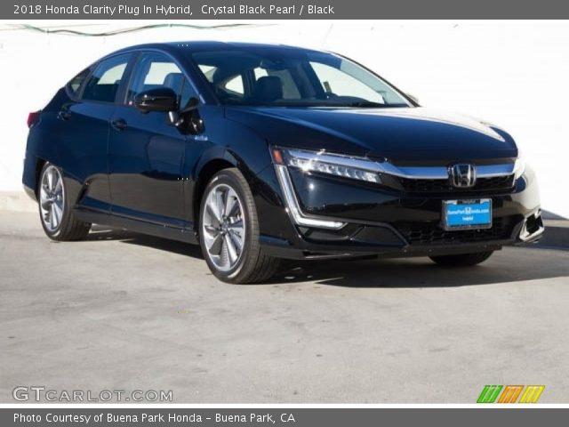 2018 Honda Clarity Plug In Hybrid in Crystal Black Pearl
