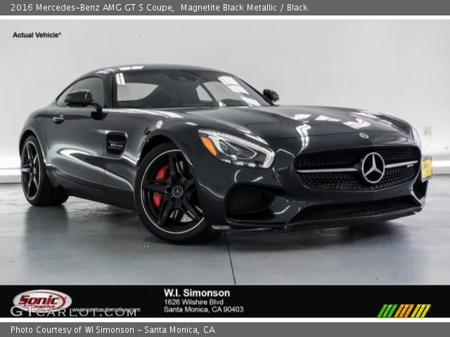 2016 Mercedes-Benz AMG GT S Coupe in Magnetite Black Metallic