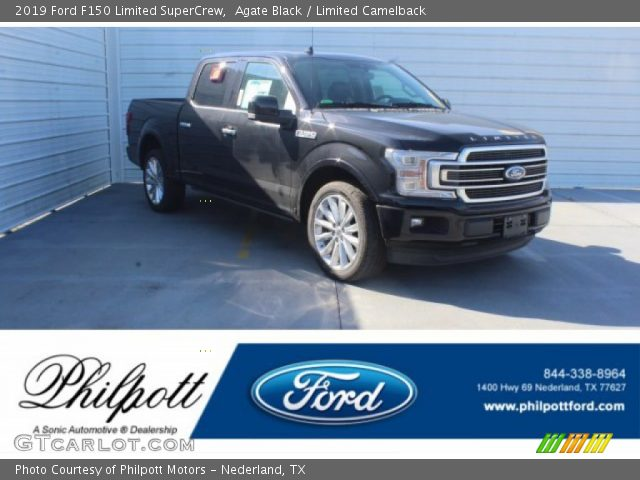 2019 Ford F150 Limited SuperCrew in Agate Black