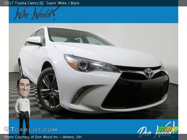 2017 Toyota Camry SE in Super White