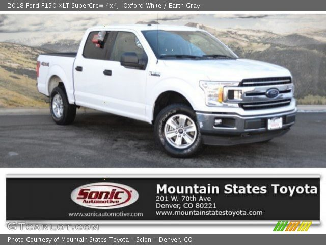 2018 Ford F150 XLT SuperCrew 4x4 in Oxford White
