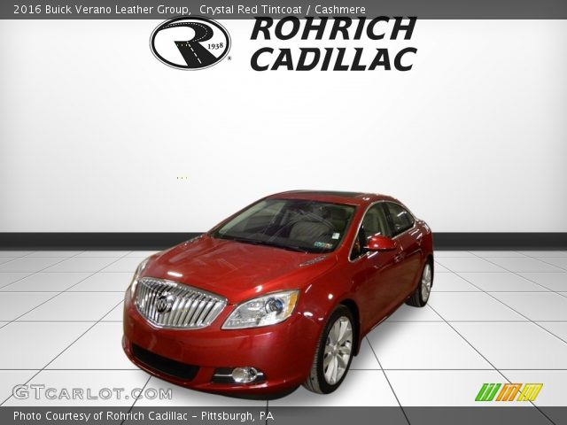 2016 Buick Verano Leather Group in Crystal Red Tintcoat
