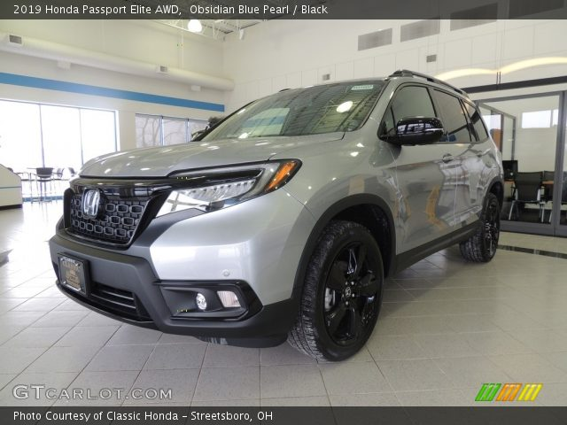 2019 Honda Passport Elite AWD in Obsidian Blue Pearl