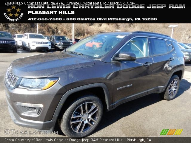 2018 Jeep Compass Latitude 4x4 in Granite Crystal Metallic