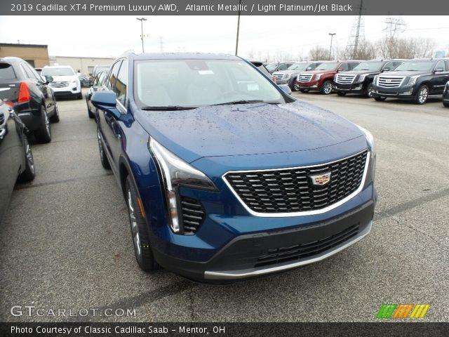 2019 Cadillac XT4 Premium Luxury AWD in Atlantic Metallic