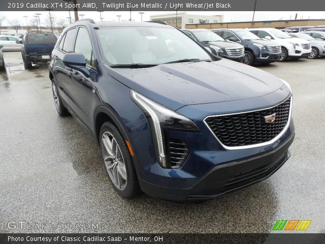 2019 Cadillac XT4 Sport AWD in Twilight Blue Metallic