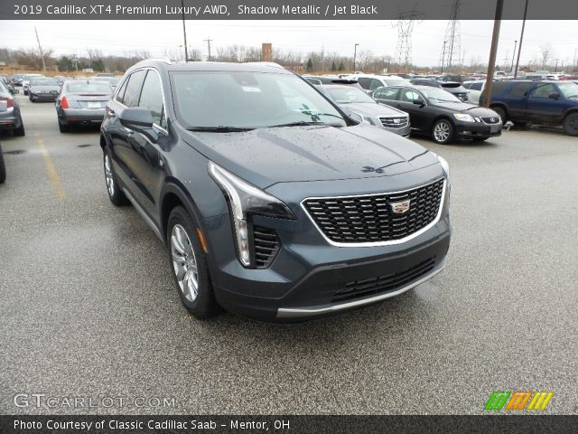 2019 Cadillac XT4 Premium Luxury AWD in Shadow Metallic