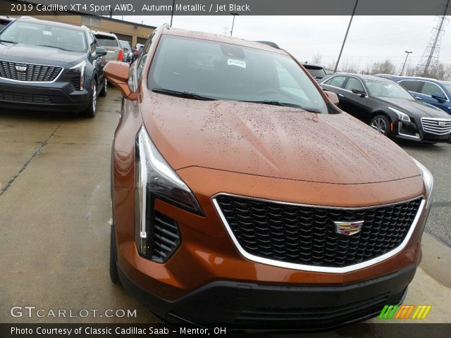 2019 Cadillac XT4 Sport AWD in Autumn Metallic