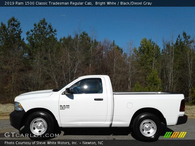 2019 Ram 1500 Classic Tradesman Regular Cab in Bright White