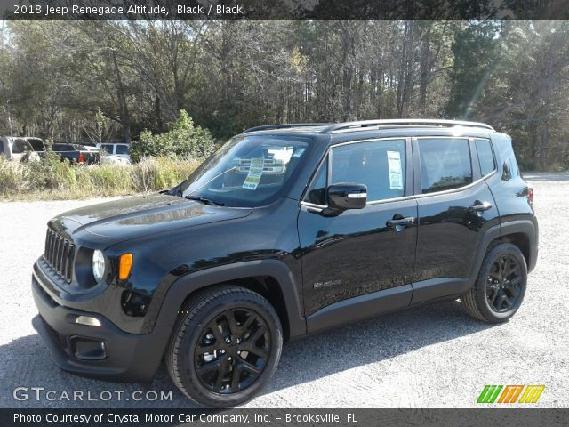2018 Jeep Renegade Altitude in Black
