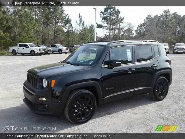 2018 Jeep Renegade Altitude in Black