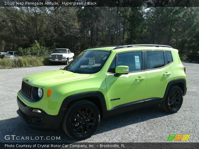 2018 Jeep Renegade Altitude in Hypergreen