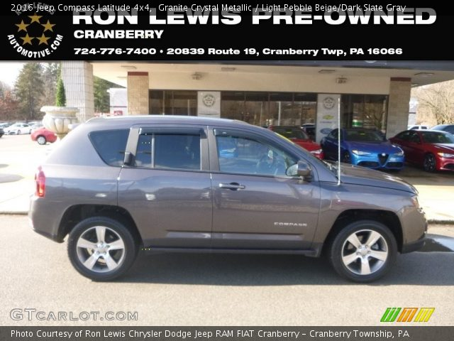 2016 Jeep Compass Latitude 4x4 in Granite Crystal Metallic