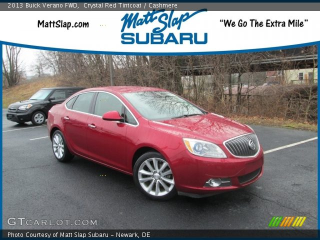 2013 Buick Verano FWD in Crystal Red Tintcoat