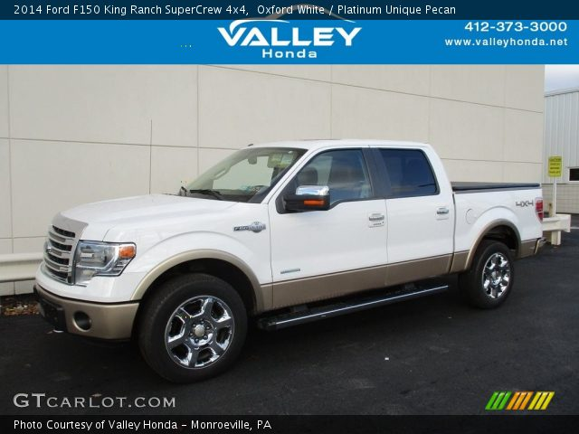 2014 Ford F150 King Ranch SuperCrew 4x4 in Oxford White