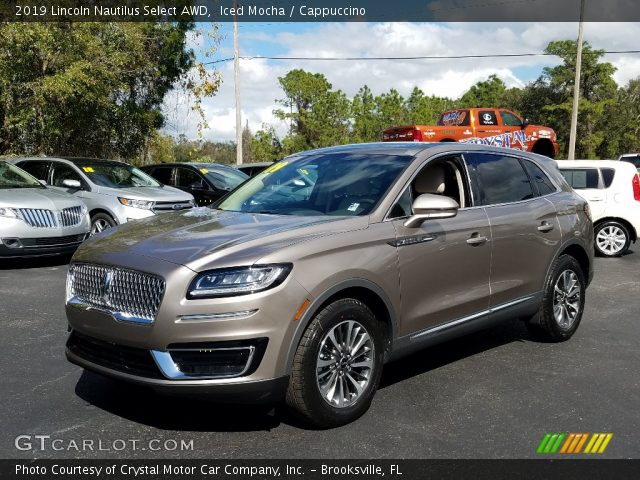 2019 Lincoln Nautilus Select AWD in Iced Mocha