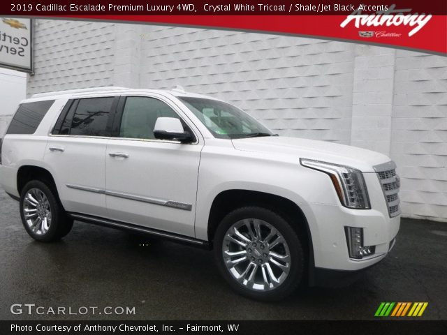 2019 Cadillac Escalade Premium Luxury 4WD in Crystal White Tricoat