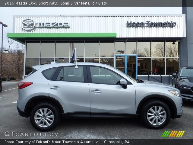 2016 Mazda CX-5 Sport AWD in Sonic Silver Metallic